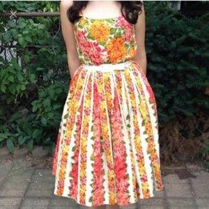 Isaac Mizrahi Garden Party Retro Housewife Dress